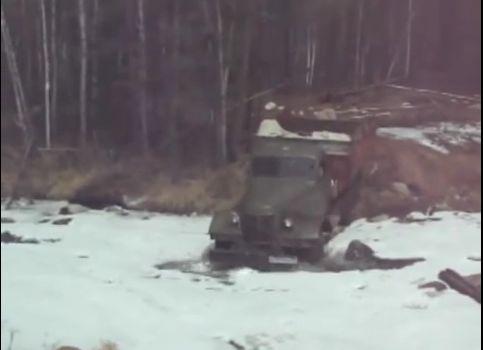ЗиЛ 157 в Забайкальской тайге